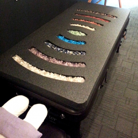Gemstone Therapy Bed