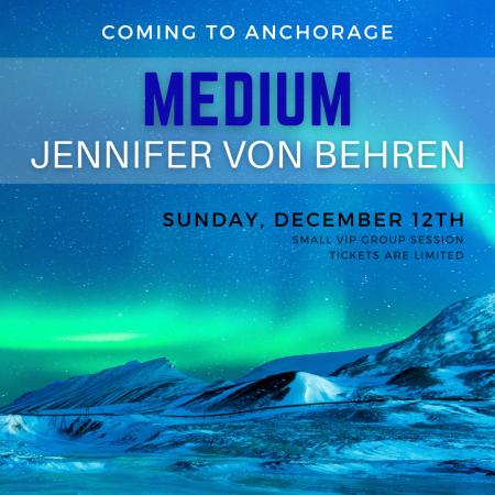 Medium Jennifer Von Behren is Coming to Anchorage