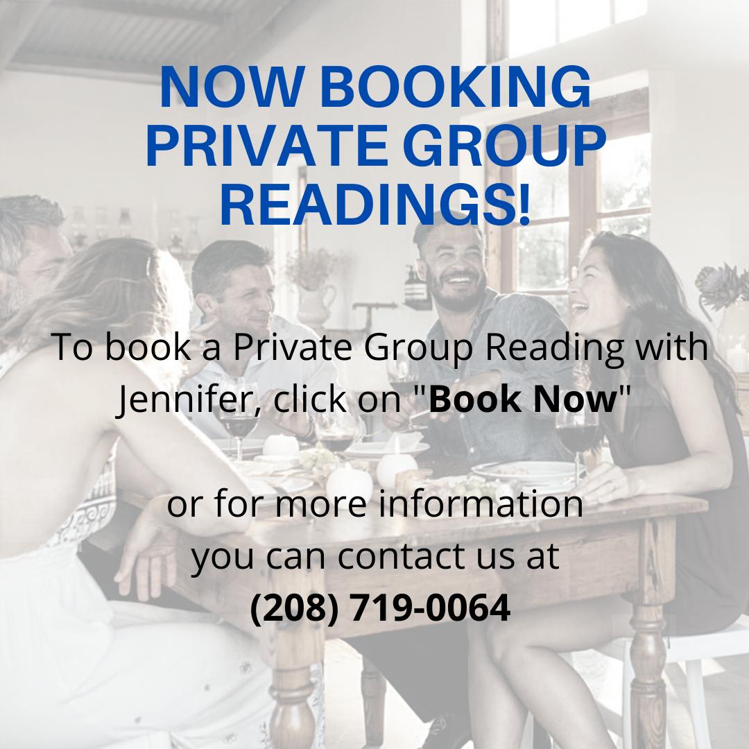 Jennifer Von Behren Private Group Readings